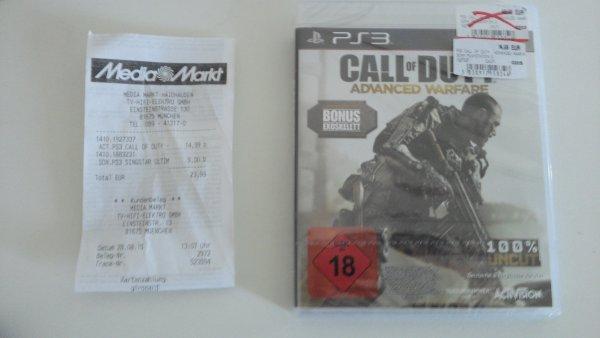 [MM München] Call of Duty: Advanced Warfare (PS 3) für 15 Euro