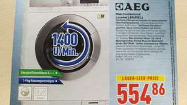 [LOKAL] AEG Waschvollautomat Lavamat L89495FL2 - Dodenhof bei Bremen