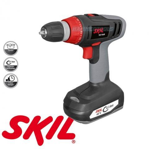Skil Skildriver 2521 18 V Li-Ion Akku-Bohrschrauber für 57,90€ (Pauldirekt)