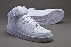 Nike Air Force 1 Mid '07 all white, portofrei ab 75 €