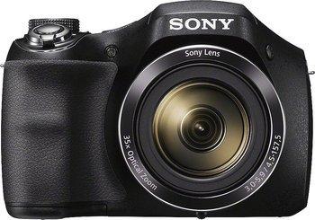 """Sony Bridgekamera DSC-H300 (20.1 MP, 35x optischer Zoom, 25mm Weitwinkel-Objektiv, Optischer Bildstabilisator """"SteadyShot""""HD) für 105,90 € @Brands4friends"""