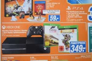 Xbox One Bundle (incl. Forza Horizon 2 & Rare Replay) @Tevi/expert Landshut