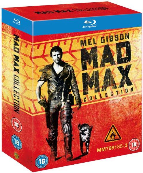 Mad Max Trilogie (Blu-ray) für 14,39€ @Zavvi.de