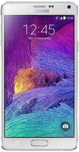 [Amazon.fr] Samsung Galaxy Note 4 LTE (5,7'' QHD Super Amoled, 2,7 GHz Snapdragon 805, 3GB RAM, 32GB intern, Digitizer, 3,7 + 16MP Kamera, 3220 mAh, Android 5.1) für 491,47€