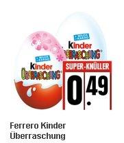 [EDEKA Minden/Hannover] KW36: Kinder Überraschungs-Ei für 49 Cent !!