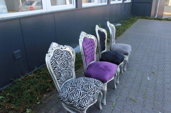 [lokal Paderborn] Silberne Stühle im Schlossstil 10€-Gutscheinerwerb/Stück