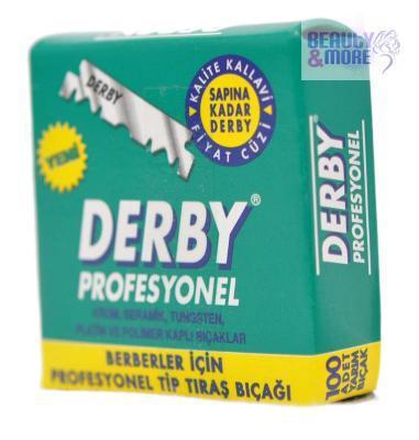 100x Derby Blattklingen Rasierklingen f. Rasiermesser für 5,95€