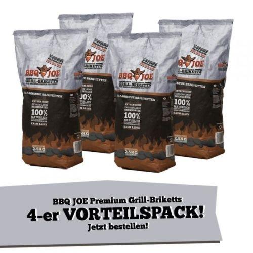 BBQ Joe: Best American Hartholz Briketts 10kg -40% unter PV