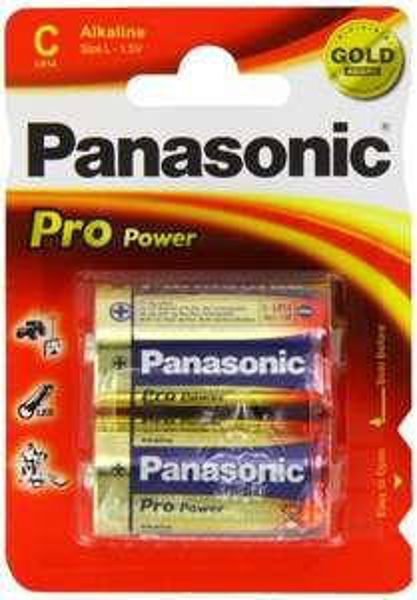 [Amazon-Marktplatz]Panasonic Pro Power Babyzellen-Batterien C LR14, 12 Packungen à 2 Stück