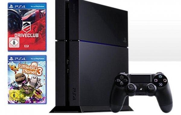[Medion] Sony Playstation 4 500 GB inkl. Driveclub und Little Big Planet 3