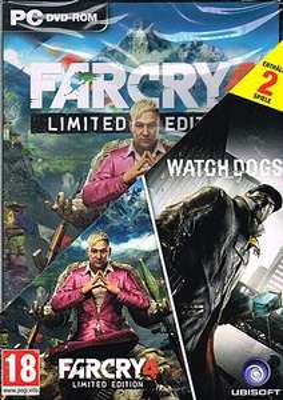 [Gameware.at] Far Cry 4 - Limited Edition + Watch Dogs (PC) für 29,99€ & Far Cry 4 + Watch Dogs (XBO) für 39,99€