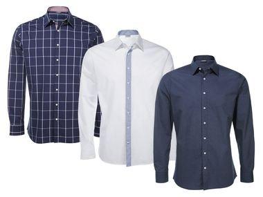 [LIDL Onlineshop] Livergy Herrenhemd Langarm - versch. Größen - 30 % Ersparnis
