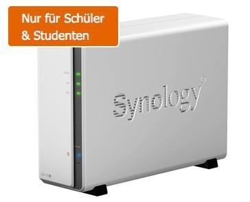Synology DS115J NAS Leergehäuse für 72€ @Gravis.de für Studenten & Schüler