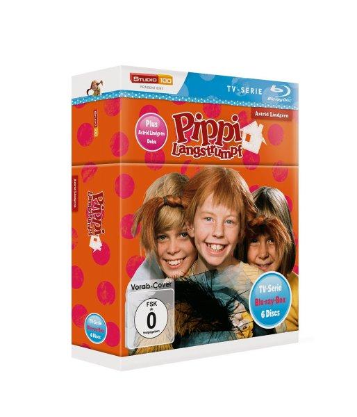 """[Media Dealer] Pippi Langstrumpf - TV-Serien-Box (Blu-ray) """"Vorbestellung"""" für 39,96€ inc.Versand. Erhältlich ab 16.10.2015"""