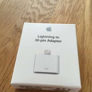 Original Apple Lighting to 30-pin Adapter