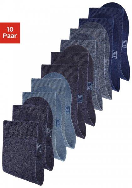 10 Paar H.I.S. Unisex - Socken ab 9,99 inkl. Versand bei OTTO