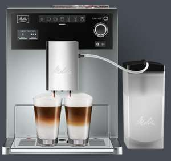 Eiskalt :-) Melitta E 970-101 silber Kaffeevollautomat Caffeo CI Vorführgerät
