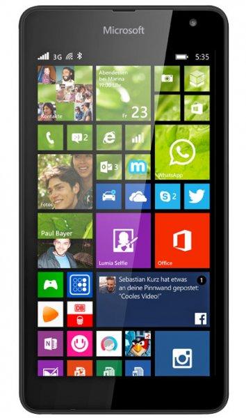 (Kaufland) Microsoft Lumia 535 Simlockfrei Win 10 ready 1,2 Ghz Quadcore 1 GB RAM