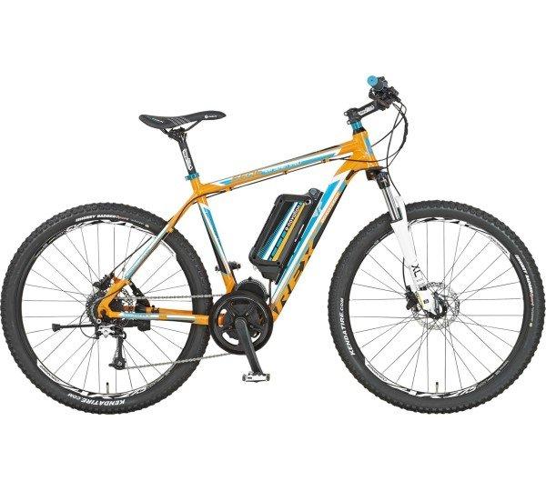 REX Bike E-Bike Alu-MTB 650B 27,5 Zoll BERGSTEIGER 4.3 Shimano XT :-) Pedelec