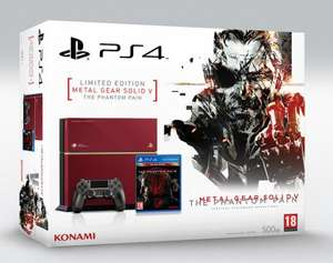 [Saturn Online] PlayStation 4 Metal Gear Solid V - The Phantom Pain - Limited Edition 500GB  CUH-1216A