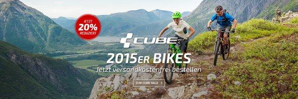 Cube Bikes 20% reduziert und versandkostenfrei bei Fahrrad.de bestellen