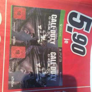 Call of Duty Ghosts (Xbox One, PS3 - Lokal) MM Bochum Ruhrpark 5,90