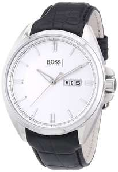 [Amazon] Hugo Boss Herren-Armbanduhr Analog Quarz Leder | -28% | 128,99€