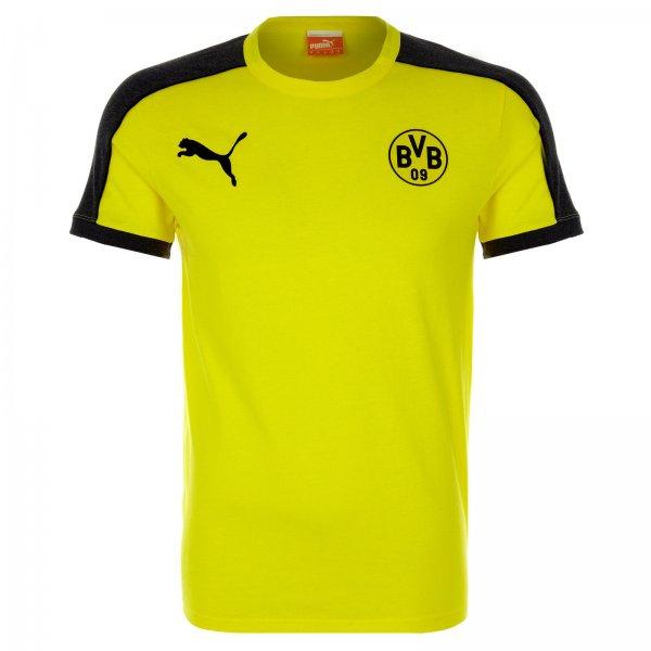 BVB Borussia Dortmund Fan T-Shirt T7 von PUMA für 12,57 Euro - versandkostenfreie Lieferung - PVG 25 Euro - UVP 35 Euro