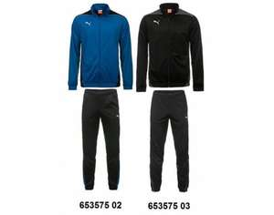 PUMA Trainingsanzug Foundation Poly Suit II (Jacke + Hose) in 2 Farben für je 26,95 € @ Allyouneed