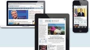 """1 Monat """"Die Welt Digital"""" sowie Geschenk kostenlos"""