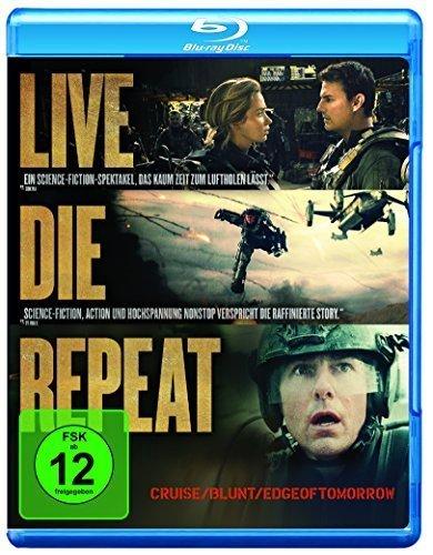 Edge of Tomorrow - Live.Die.Repeat [Blu-ray] 7,99 amazon Prime