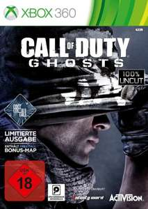 Call of Duty Ghost XBOX 360 Limitierte Free Fall Edition NUR 4,02€ zzgl 5,00 Strafversand! Amazon