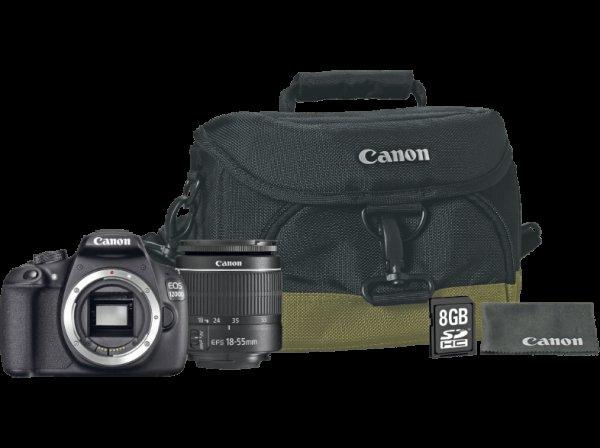 [Saturn] Canon EOS 1200D + Objektiv EF-S 18-55 DC III Kit + Kameratasche + 8GB Speicherkarte + Microfasertuch ab 294,-€