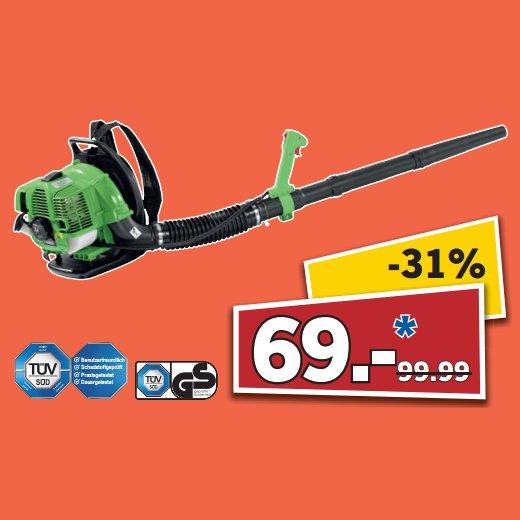 [83059 KOLBERMOOR] LIDL: Florabest Benzin-Laubbläser FBLB 33 A1 / 1,22 PS (04.-05.09. 10-18 Uhr) für 69,00€