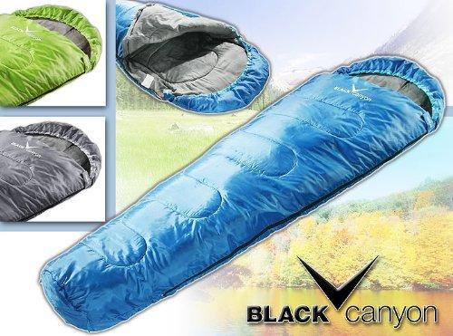 Black Canyon Schlafsack für Sommer Yukon blau, nur 19,49€ @Amazon