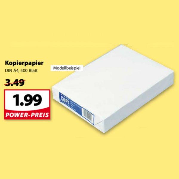 [FAMILA NW] KW37: Kopierpapier 500 Blatt 80g/m² für 1,99€ (07.-12.09.)