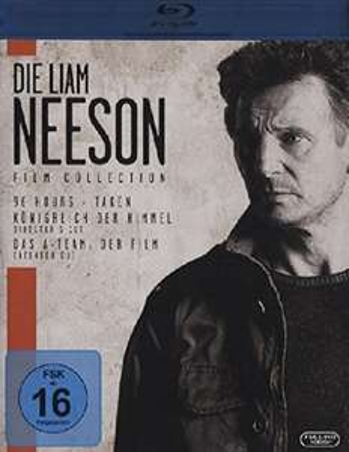 Die Liam Neeson Film Collection - Taken, Königreich der Himmel, A-Team 8,52 mit Prime