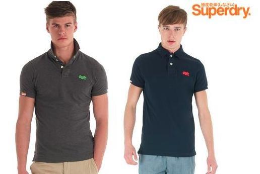 [iBood] nur heute Superdry Classic Piqué Poloshirt in 2 Farben für 23,90€ inkl. VSK