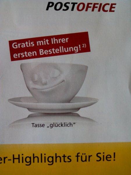 Gratis Tasse Glücklich FiftyEight (wert 16,50 Euro)  i.v.m Briefmarkenbestellung in Höhe von 19€
