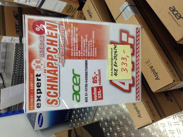 EXPERT DORMAGEN Acer E1-572g für 333€