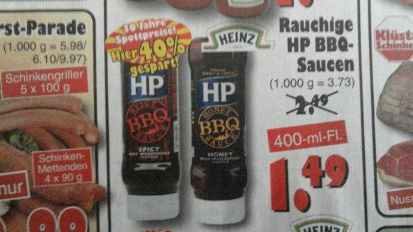 (lokal) Jawoll: HP BBQ-Sauce für 1,49€