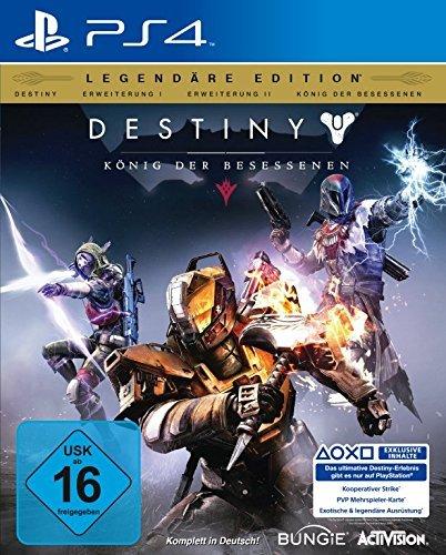 Destiny: König der Besessenen Legendäre Edition / Old- und Current-Gen / durch Gutschein 54,90 (Bücher.de)