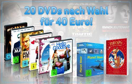 Unterm Dirndl wird gejodelt und weitere Highlights der Filmgeschichte :-) 20 DVDs für 40 Euro @QypeDeals