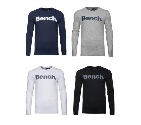 """Bench.™ - Herren Langarm-Shirt """"Coalition"""" (Weiß,Schwarz,Blau,Grau) für €12,99 [@eBay.de]"""
