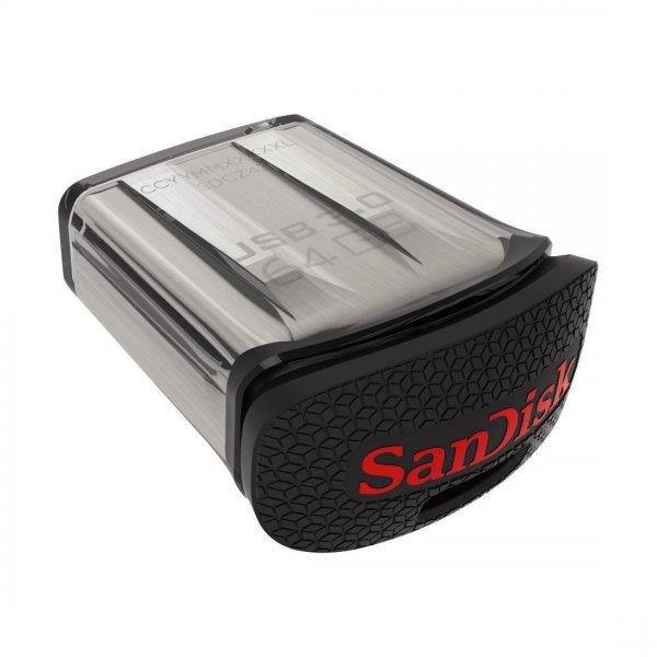 SanDisk Ultra Fit 64GB USB 3.0 oder 32GB   -Amazon 19€ /11€ mit Prime oder Buch-Trick (sonst +3€)