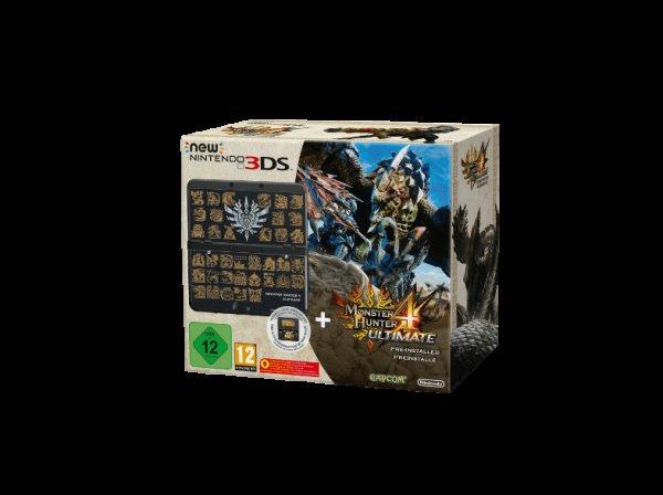 [Saturn] New Nintendo 3DS Monster Hunter 4 Ultimate Bundle ab 184€