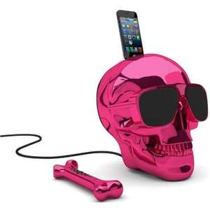 Jarre Aeroskull Hd Dockingstation pink - Bluetooth Lautsprecher mit Fernbedienung @Amazon