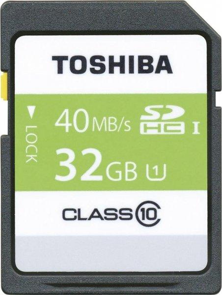 Toshiba HS Professional 32GB SDHC Class 10 für 8€ bei Media Markt