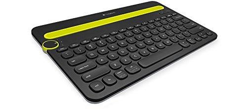 Logitech K480 kabellose Bluetooth-Tastatur für Computer, Tablet und Smartphone (QWERTZ) schwarz 29,99 € @Amazon