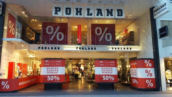 Pohland Koblenz: Jeans (Diesel, G-Star), Hemden (Olymp, Camp David) und andere stark reduziert